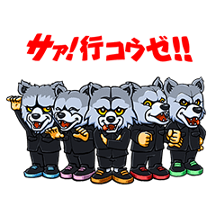 [LINEスタンプ] MAN WITH A MISSION (1)