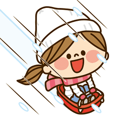 動く!かわいい主婦の1日【冬編】