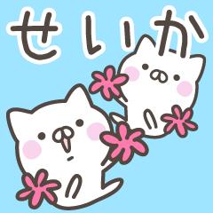 ☆★せいか★☆お名前ベーシックパック