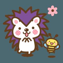 ハリネズミのハリさんとハチさん