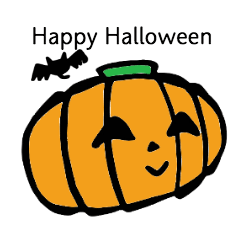 ハロウィンスタンプ!!Happy Halloween!!