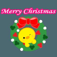 動くひよこのぴよちゃんクリスマス&お正月