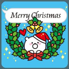 ♥ふきだしクマさん♥クリスマス&お正月編