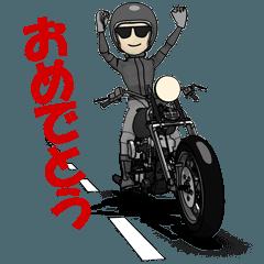幸せ アメリカンバイク