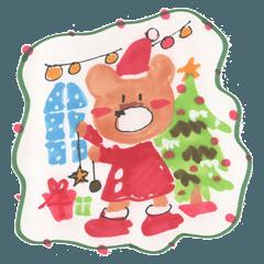 くまっちのクリスマス