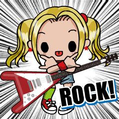 動く!弾く!ギター女子
