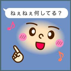 動く!吹き出しの手話付き顔文字(vol.2)