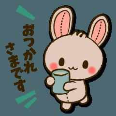 縫い目ウサギの日常会話