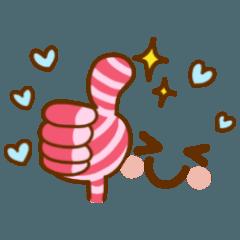 [LINEスタンプ] 伝える絵文字☆ (1)