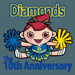 北上チアリーダーDiamonds10th anniversary