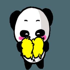 [LINEスタンプ] 【動く】パンダの日常会話の画像(メイン)