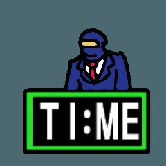 月給忍者 TIME