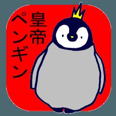 お返事が得意な皇帝ペンギンのヒナだよ