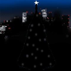 動く!クリスマスに使うと思われるスタンプ