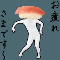 動く!リアル寿司