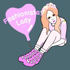 Fashionista Lady-Osaka girls