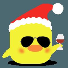 かわいい♥ひよこ クリスマスVer.