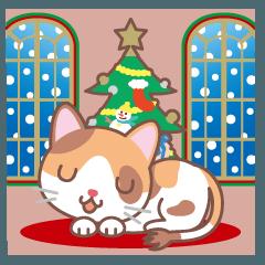 クリスマスと年末 〜三毛猫とオート三輪
