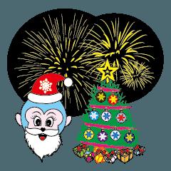 ブルーベイビ. クリスマスと新年. 中国語