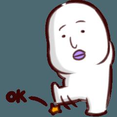 [LINEスタンプ] OKマン (1)