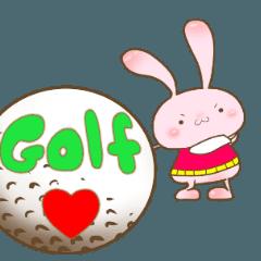 動くゴルフ大好き愉快な仲間達