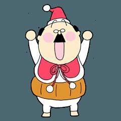 平田フマオ 65歳 クリスマスバージョン