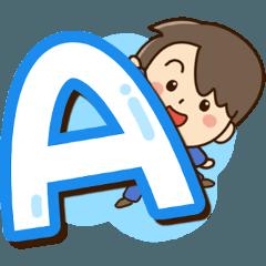 やさしいパパ【アルファベット編】