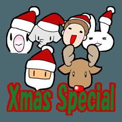 タイニーステッカー クリスマス スペシャル