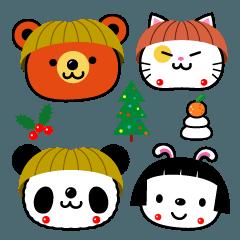 おかっぱぁー'zoo 冬