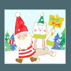 [LINEスタンプ] クリスマス&年末年始スタンプ (1)