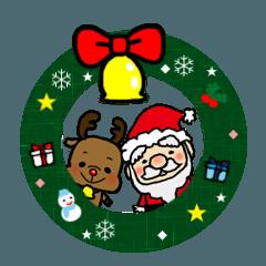 メリークリスマス みんなのサンタさん