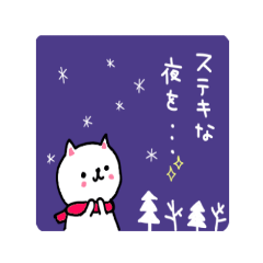 白猫ちゃんの冬