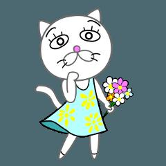 白猫たま子さん