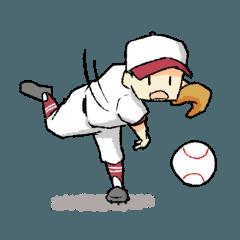 304スタンプ野球