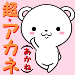 超★アカネ(あかね)なクマ