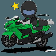 最速を目指す緑のライダー