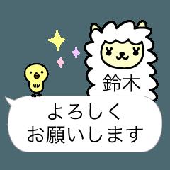 鈴木専用アルパカ