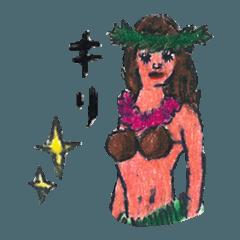 ハワイからこんにちは