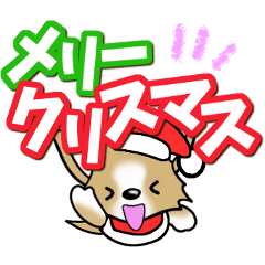 チワワ 犬スタンプ【季節のあいさつ編】