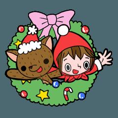 赤ずきんのクリスマス