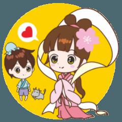 桜ちゃんが、中国語を話しましょう-4