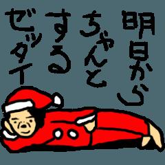 サンタのおばさん 〜中年パワー全開〜