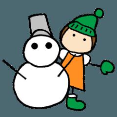 とんちゃんの冬