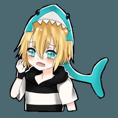サギューとサメさん