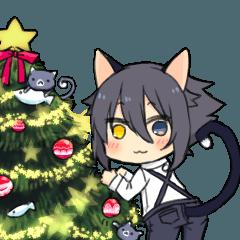 けもみみとちびねこのクリスマス