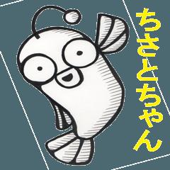 ちさとちゃん魚