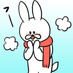 お調子者うさぎ 【冬】に使いたいシリーズ