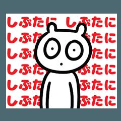 [LINEスタンプ] しぶたにさんに捧げるスタンプ