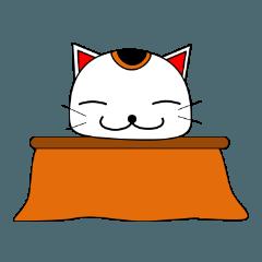 招き猫のねねこ 冬(年賀・クリスマス)