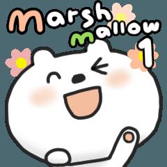 動くマシュマロ 1